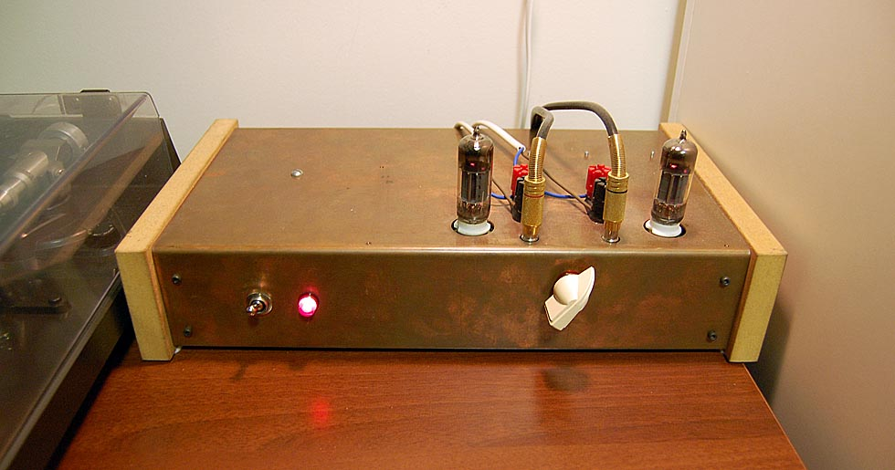 Stereo Tube Amplifier Circuit Amplifier Circuit Design