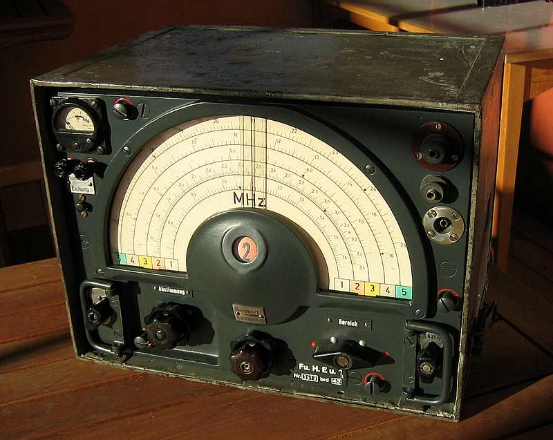 kwea  hf receiver   german wwii  ww2