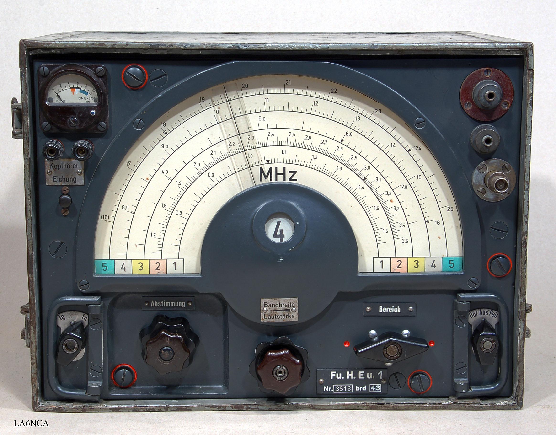 KwEa  HF    Receiver      German WWII  WW2